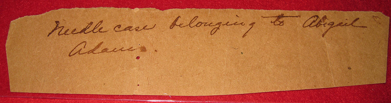 Needle Case Belonging to Abigail Adams