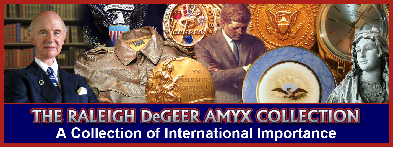 The Raleigh DeGeer Amyx Collection