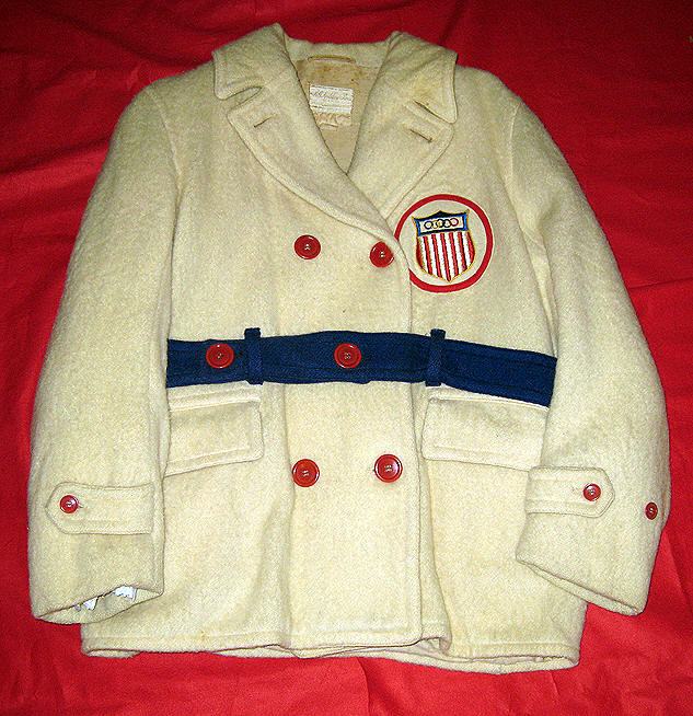 1932 Official Winter Olympics Jacket