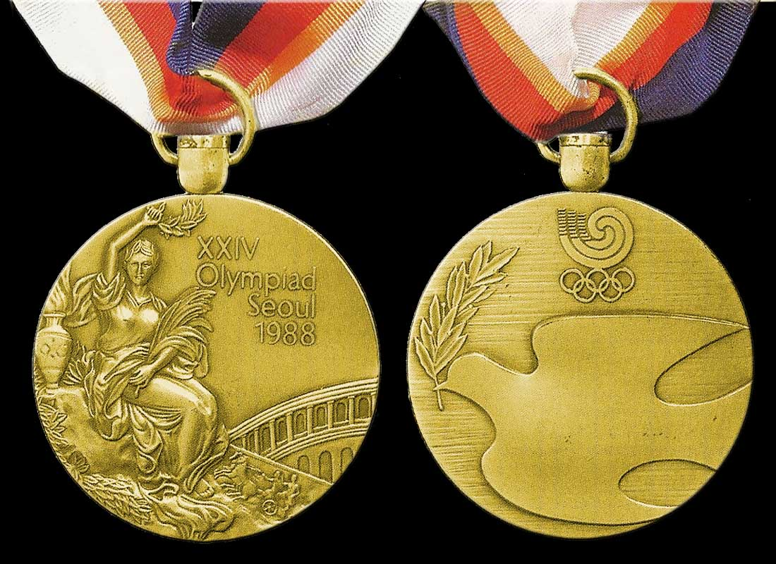1988 Olympic Gold Winners Medal