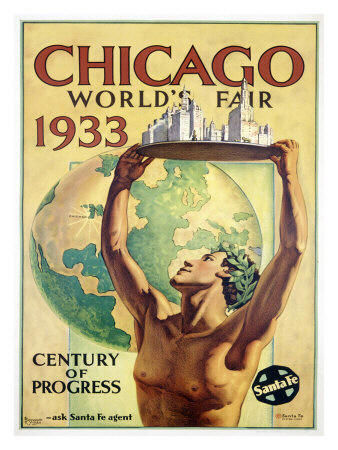 Official Poster Chicago Worlds Fair