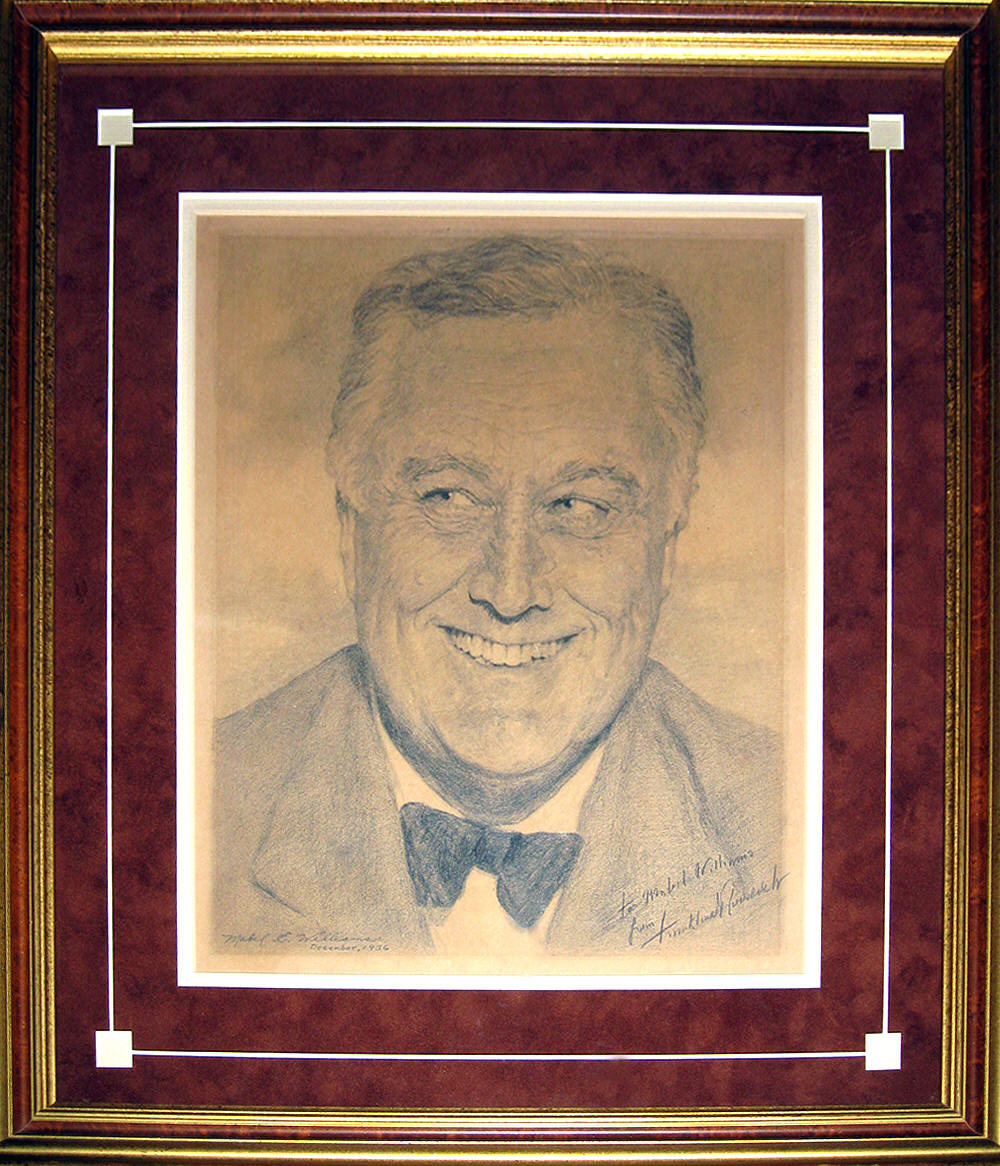 Original Art of President Roosevelt