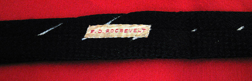 President Roosevelts Tie