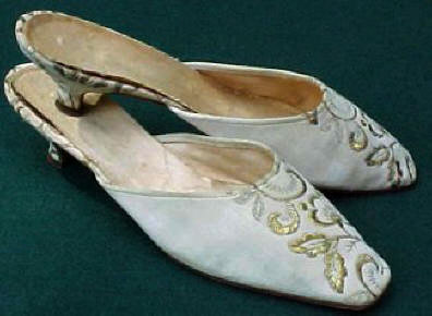Jacqueline Kennedy S Gold Brocade Shoes