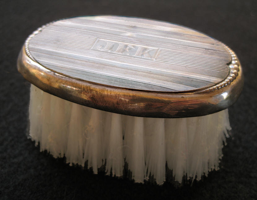 Jack Kennedy's Hair Brush