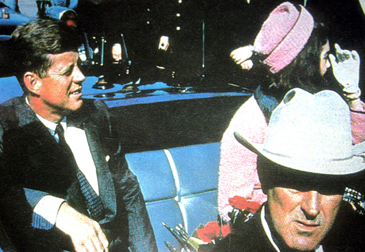 JFK & Jackie in Dallas Texas