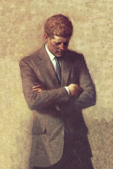 Official White House Portrait of John F. Kennedy