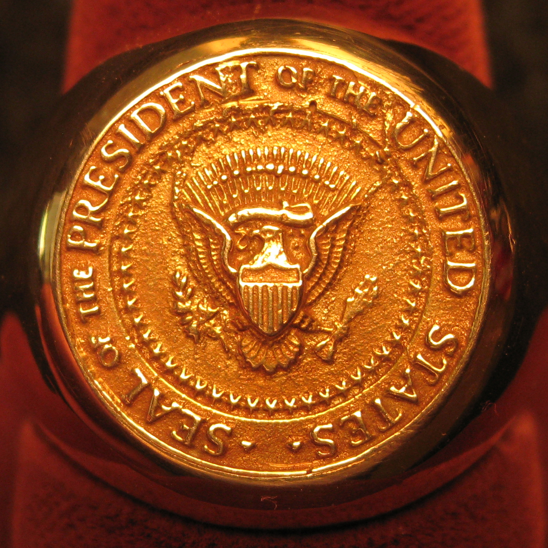 John F. Kennedy's 18K Gold Ring