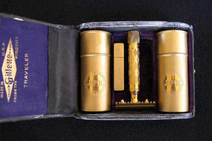 John F. Kennedy's Shaving Set