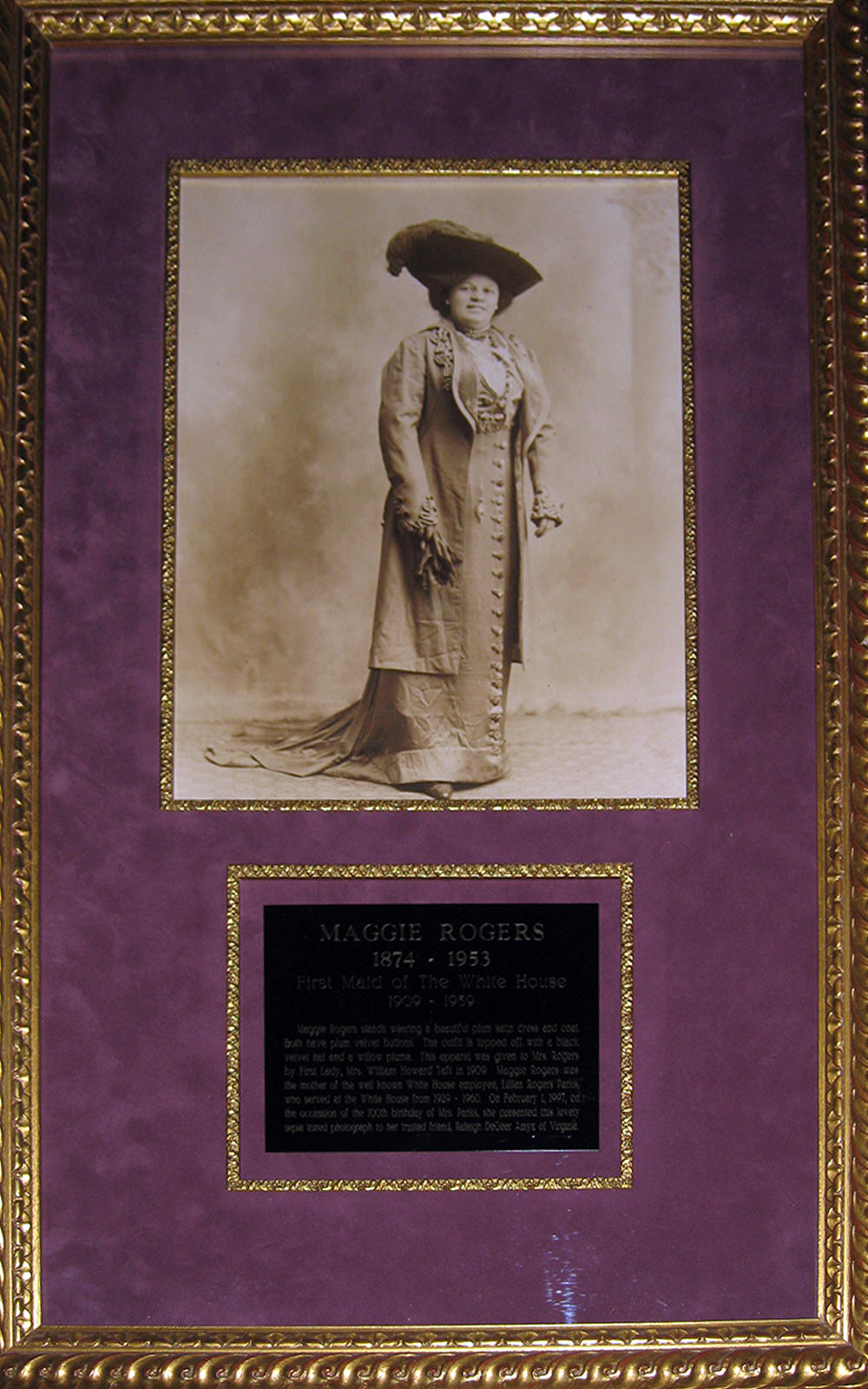 Maggie Rogers First Maid of The White House