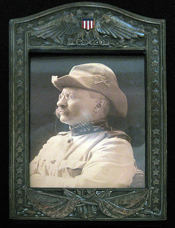 Col. Theodore Roosevelt's Framed Photo