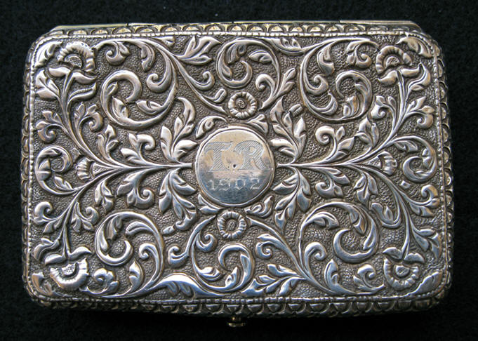 Sterling Card Case of Theodore Roosevelt