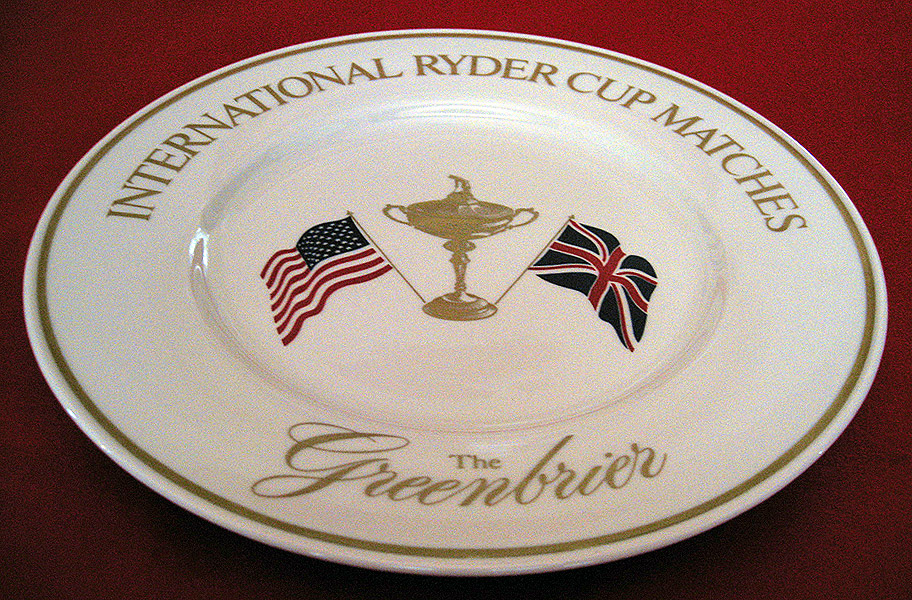 Ryder Cup Championship Plate