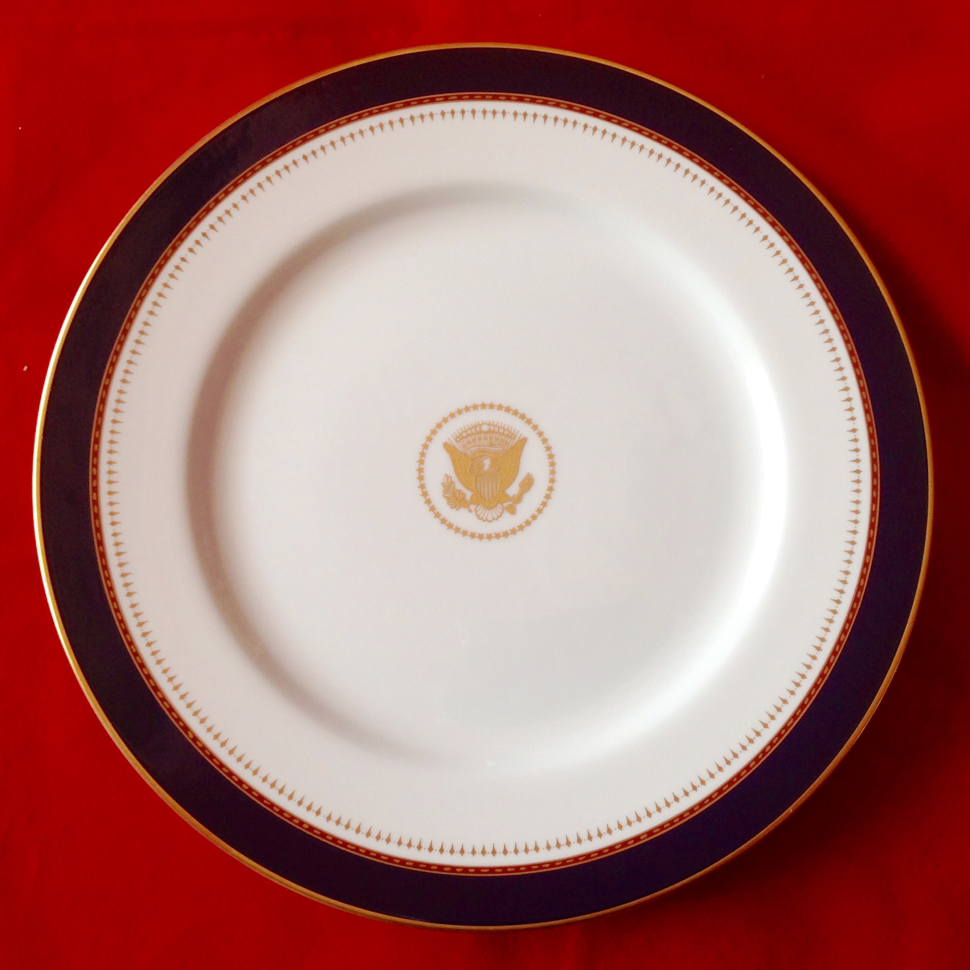 Ronald Reagan White House China Nancy Reagan White House