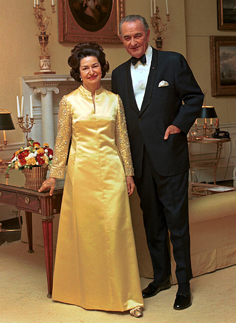 Lady Bird & Lyndon B. Johnson
