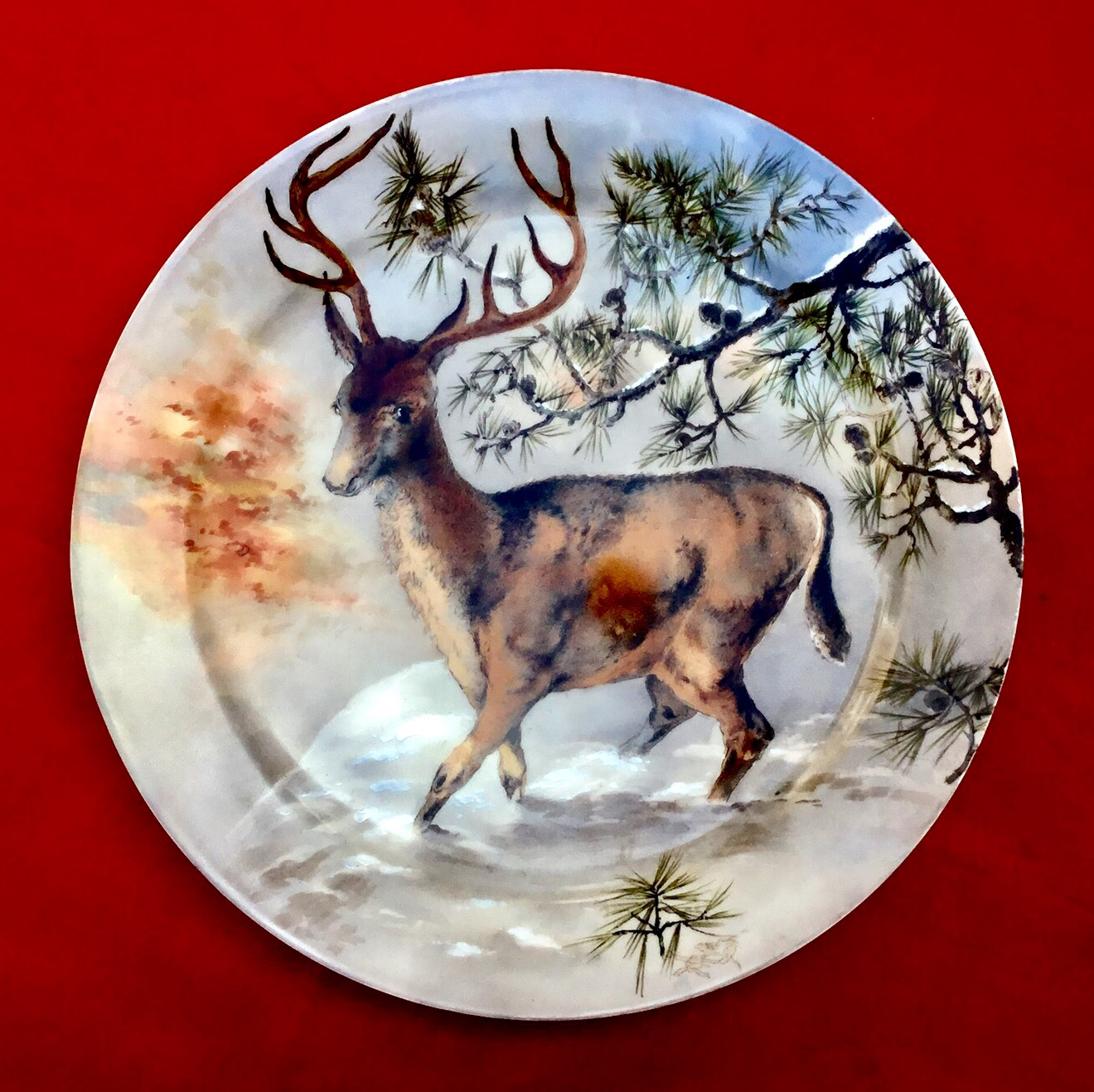 Rutherford B. Hayes soup plate ...  sc 1 st  The Raleigh DeGeer Amyx Collection & White House China Rutherford Hayes | White House China Lucy Hayes