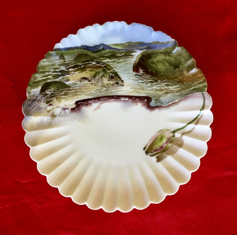 Hayes Desert Plate Official White House China