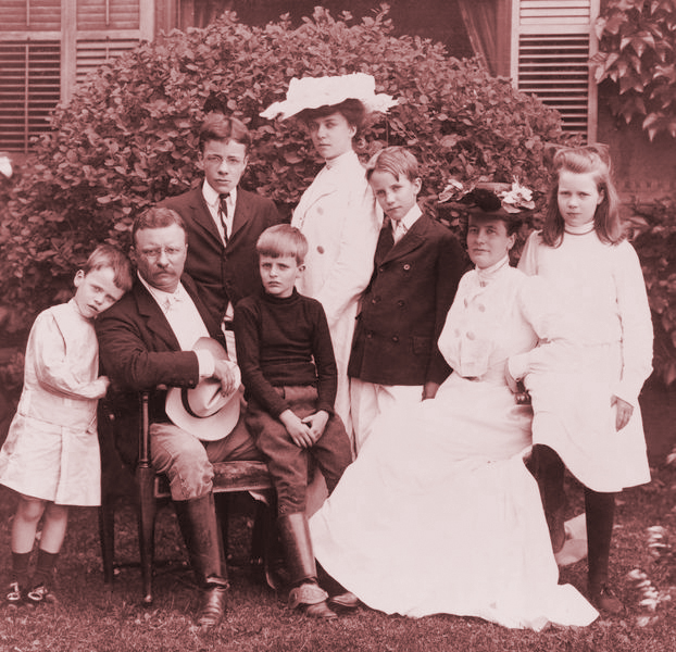 Theodore Roosevelt and Family