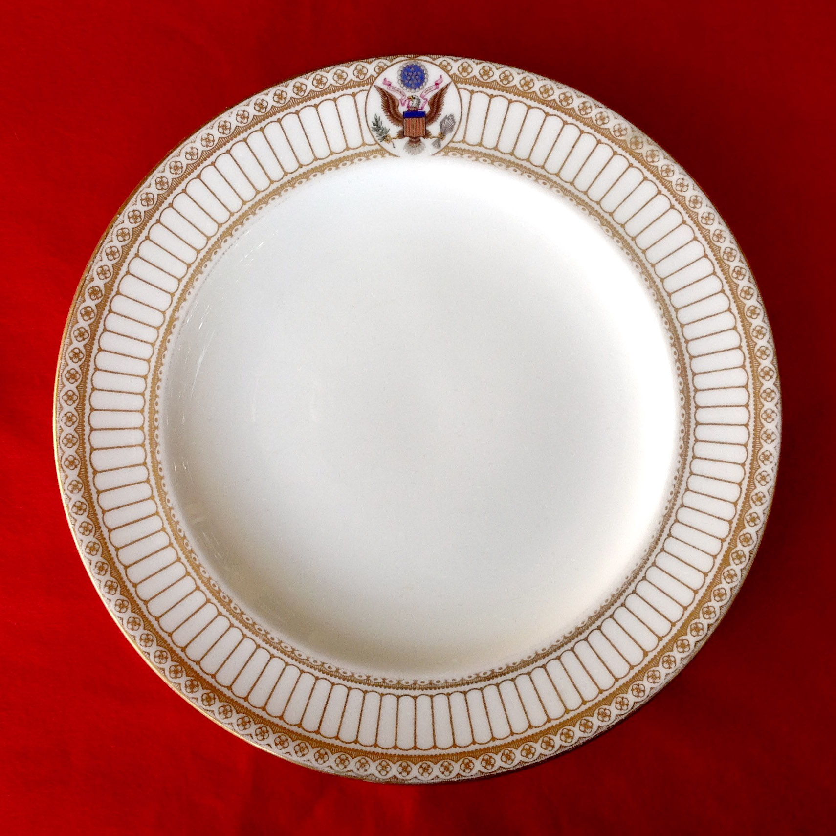 Official White House China Theodore Roosevelt