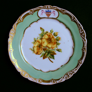 James K. Polk's Desert Plate