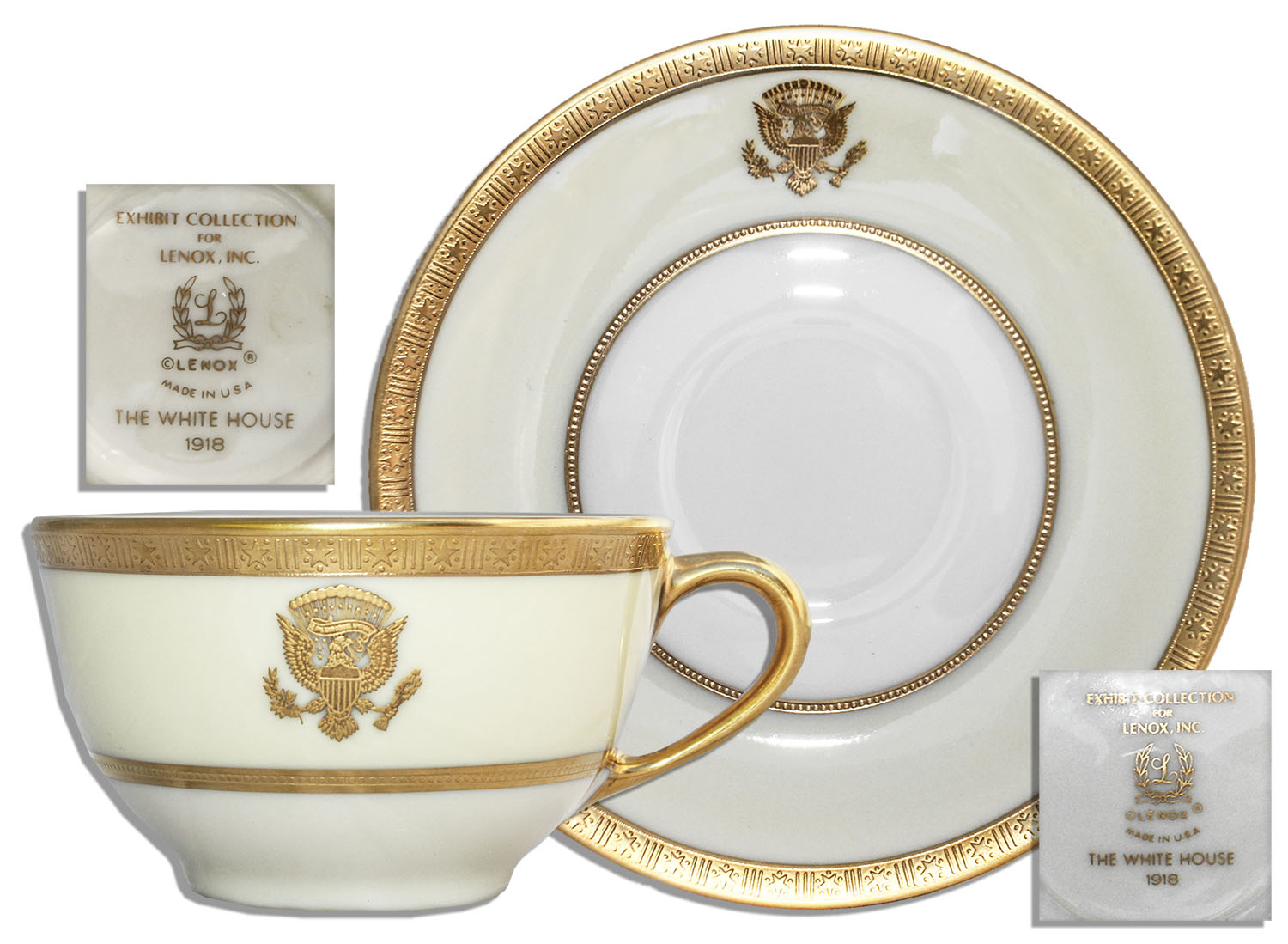 A sampling of Woodrow Wilson's White House china